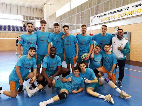 Deportes voley Almería Mintonette