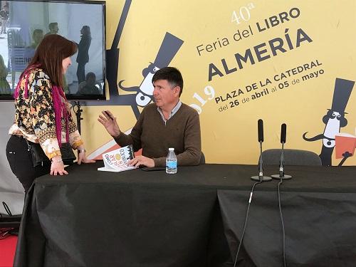 Feria libro Almería Pimentel