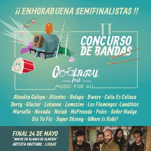 Cooltural Fest-II Concurso Bandas