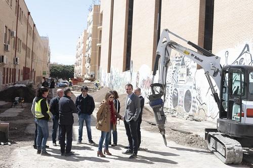 Alcalde obras calle Guadarrama