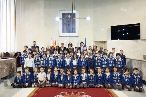 Visita Ayuntamiento colegio Diocesano