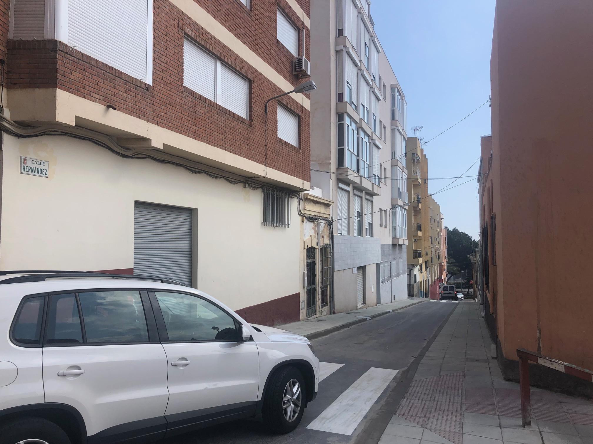 Apertura calle Hernandez