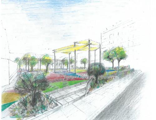 Proyecto plaza López Falcón