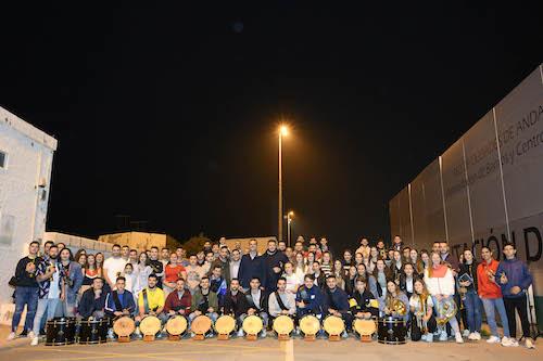 Alcalde Almería Bandas y Cornetas