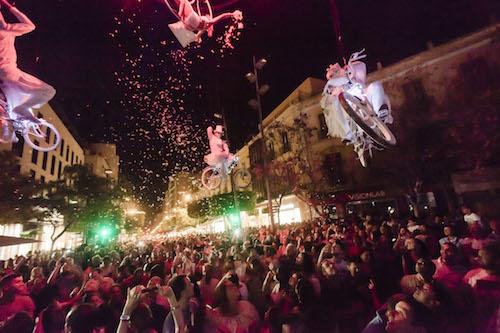 Almería Noche en Blancoa