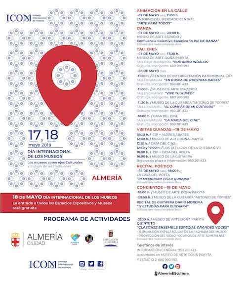 Cultura Dia Museos Almería
