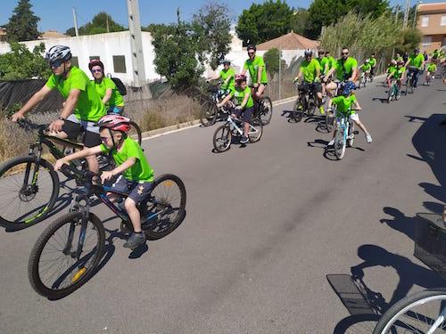 Marcha Bicicleta La Cañada Almería