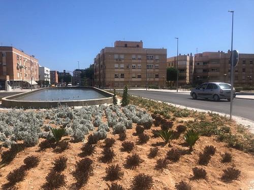 Rotonda calle Santiago Almería