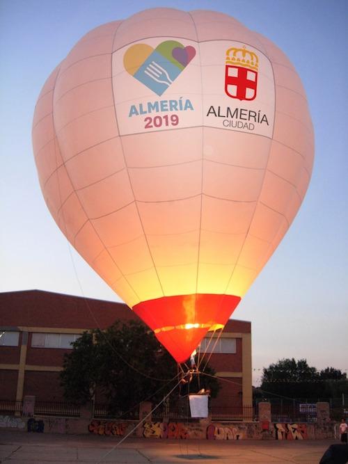GLOBO AEROSTÁTICO ALMERIA 2019