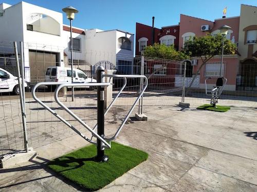 Almería zonas juegos biosaludables