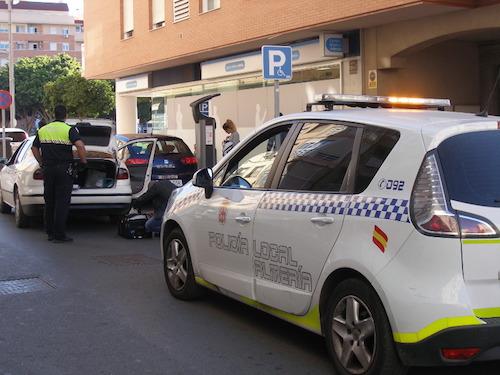Intervención Policía local Almería