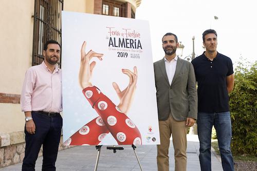 Alcalde Almería Cartel Feria 2019