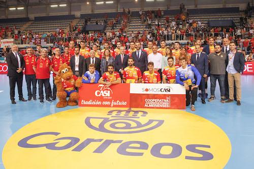 Almería Selección española balonmano
