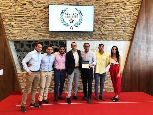 Ayuntamiento Almería distinción judo deportes