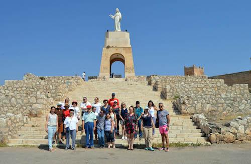 visita guiada cerro san cristobal