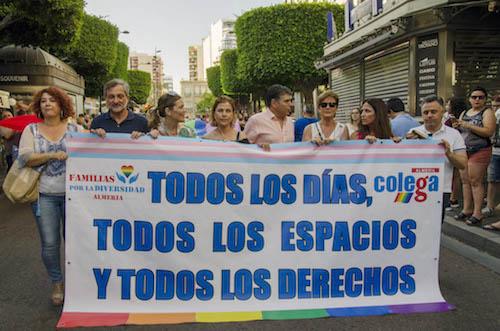 Almería Igualdad Marcha LGTBI 2019