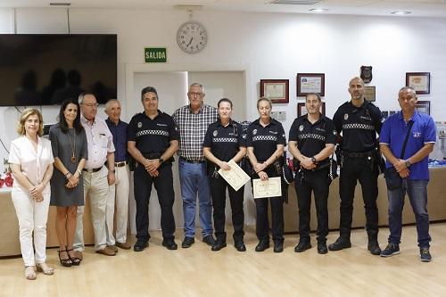 Reconocimiento Policía Local Almería