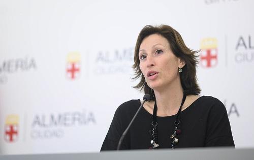Portavoz María Vázquez Ayuntamiento Almería