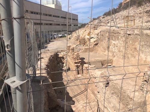 Restos arqueológicos calle Pósito Almería