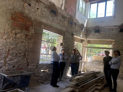 Almería obras edificio Los Molinos