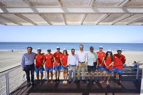 Almería playas socorristas