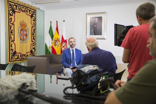 Alcalde de Almería Entrevista