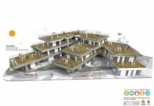 Almería edificio Tercer sector