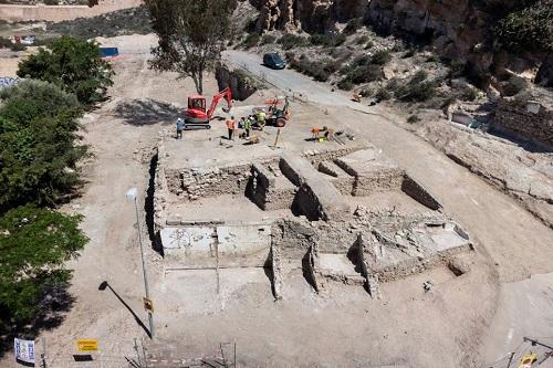 Almería trabajos arqueológicos