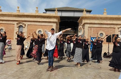 Almería flashmob flamenco