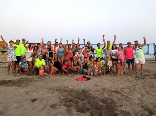 Almería deportes tenis playa