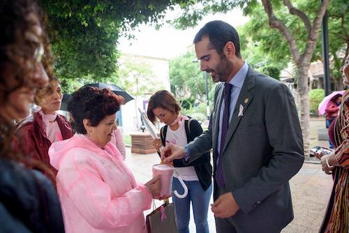 Alcalde Almería cáncer mama