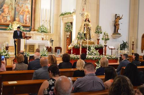 Almería Nuestra Señora del Carmen Coronada