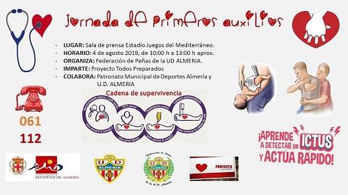 Almería Jornadas Primeros Auxilios