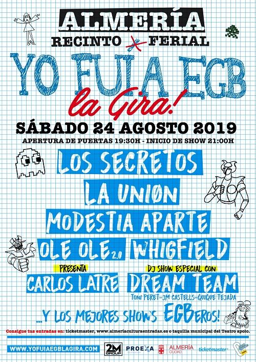 Conciertos Almería EGB