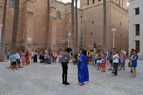 Turismo Almería visitas teatralizadas