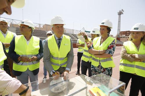 REmodelación estadio Emilio Campra Almería