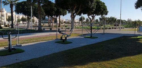 Almería nuevos parques biosaludables