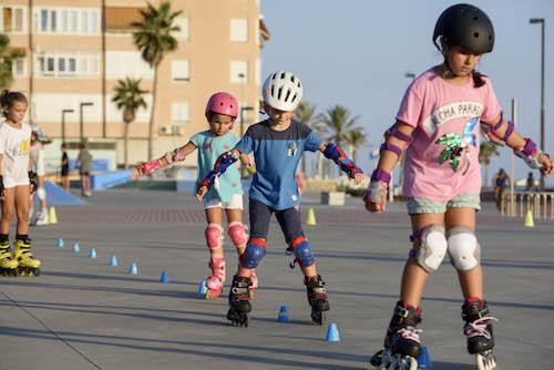 Almería deportes patinaje