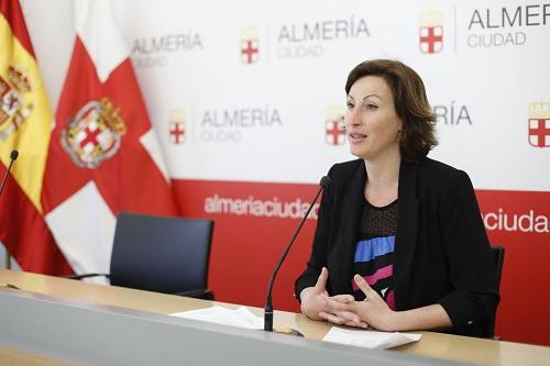 Almería Ayuntamiento María Vázquez