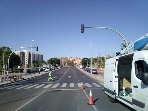 Almería seguridad y movilidad semáforo