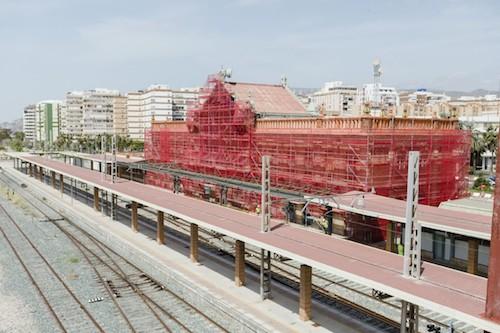 Obras estación Ferrocarril Almería