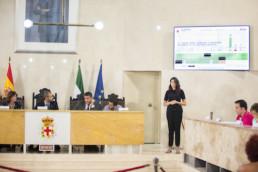 Ayuntamiento Almería votaciones pleno
