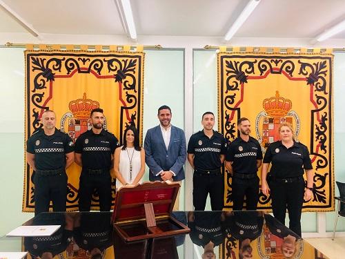 Toma posesión policía local Almería
