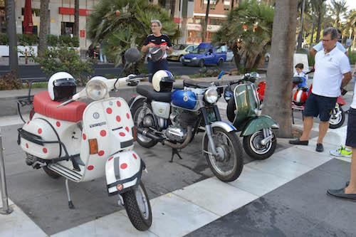 Almería Feria motos antiguas