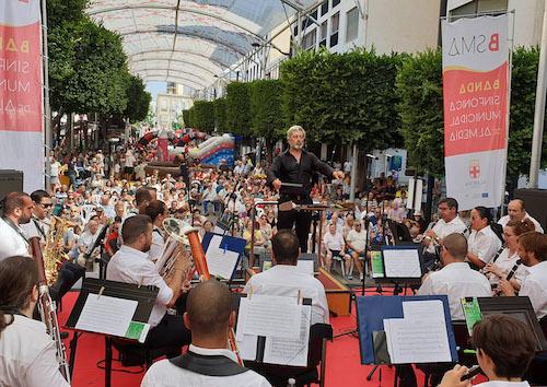 Cultura Almería Banda municipal música