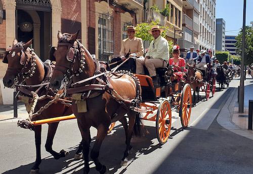 Paseo caballos 2019