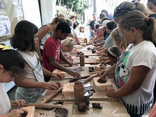 Feria Alfarería Almería niños