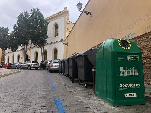 Almería reciclaje vidrio