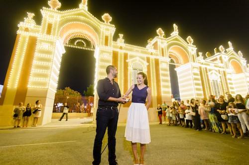 Iluminación Feria