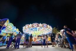 Feria Almería noche sin ruidos